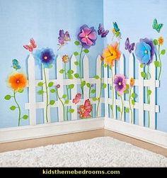 Little Girl Flower Garden Bedroom Girls' Room Designs