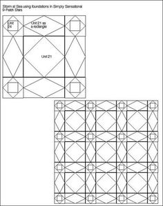 GRAHP PAPER AND COLORING SHEETS FOR QUILT DESIGN on