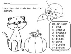 Halloween Multiplication Mosaic-Color By Number Pack-FUN