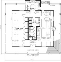 House plans, Bunkhouse and House on Pinterest