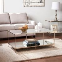 Safavieh Modern Glam Malone White/ Chrome Coffee Table by ...