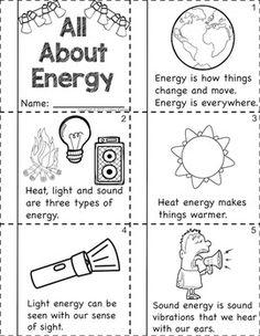 Energy Worksheets For Kids