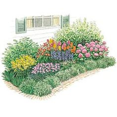 Sensational Summer Garden Plan Gardens Summer And Window Plants