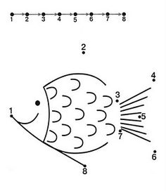 Fun Activities: Dot to Dot Printable Worksheets for Kids