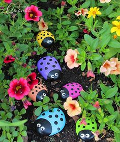 10 Garden Decorating Ideas With Rocks And Stones Jardins Et Idées