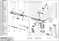Book, Colt Handguns Exploded Gun Drawings Digital (PDF
