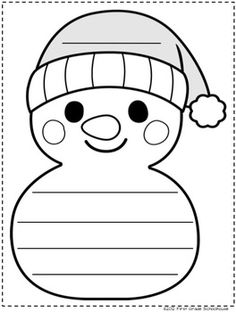 FREE Winter Writing Paper: Here are 3 printable winter