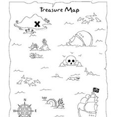example pirate treasure hunt hunt clues/riddles for kids