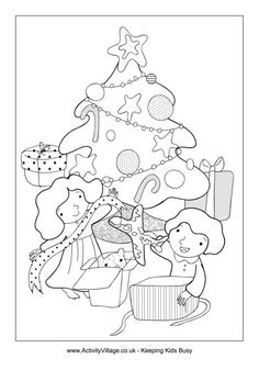 1000+ images about Colouring sheets christmas on Pinterest