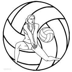 Volleyball and Lineup on Pinterest