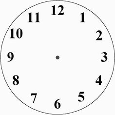 1000+ images about Clocks fractions on Pinterest