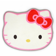 picture of hello kitty face Hello Kitty Face Red Bow