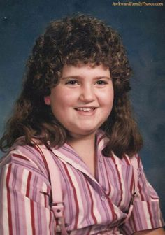 Some Embarrassing Hairstyles From The '80s And '90s 38 Photos