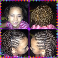 Chi Chi Sophistication LITTLE Girl Hairstyles Pinterest Chi Chi