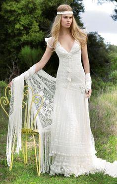 Vintage Rustic Style Wedding Dresses | Invitationjpg.com