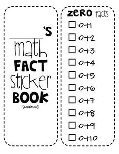 Growing Fact Fluency: Practice and Timed Test for Building
