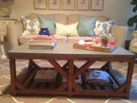Concrete table, Round tables and Showroom on Pinterest