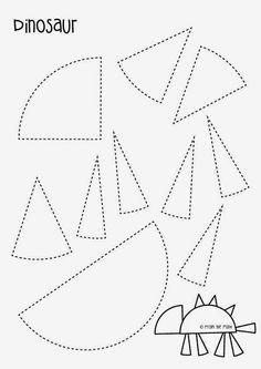 1000+ ideas about Dinosaur Template on Pinterest