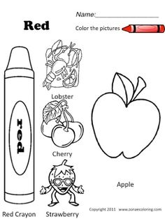 Use these two adorable color by number worksheets to