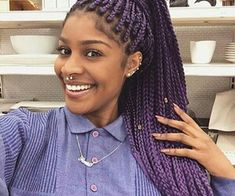 Goddess Braids Hairstyle 02 Box Braids Goodess Pinterest