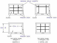 Add-On Window Panes, Colonial Windows, Muntins, Mullions
