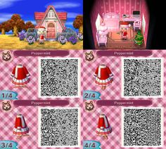 Christmas Path Animal Crossing New Leaf Qr Codes Acnl