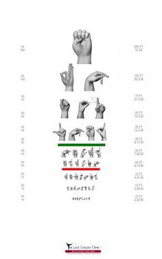Free Printable Flashcards: ASL Number Flashcards