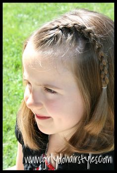 High Ponytails Toddler Girls Hairstyle Super Cute For Toddler