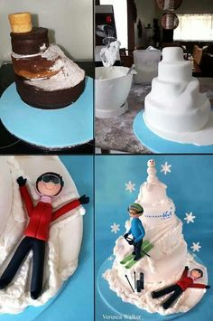 1000 Images About Winter Theme Cakes On Pinterest
