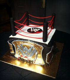 Wwe On Pinterest Wwe Cake Wwe And Wrestling