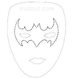 Máscaras de los vengadores para imprimir y colorear