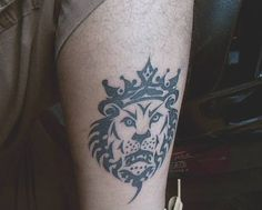 Lebron James Lion Logo Tattoo
