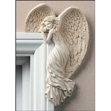 Engel Vleugels Wand Decor Met Hart Witte En Gouden Shabby Chique