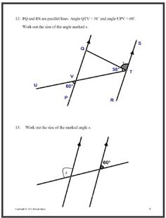 1000+ images about Geo: Parallel and Perpendicular Lines