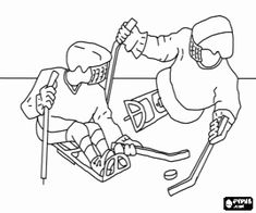 Athletes With Disabilities Printable Coloring Pages