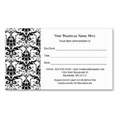 1000+ images about Salon Business Cards on Pinterest