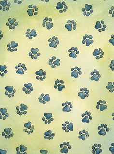 Bordered Iphone X Wallpaper Puppy Paw Print Wallpaper Bing Images Paw Prints