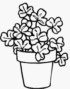 Leaf clover, Clovers and How to draw on Pinterest
