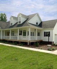 Porches, Second story and Modular homes on Pinterest
