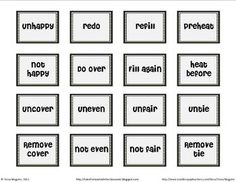 1000+ images about prefix, suffix, root words on Pinterest