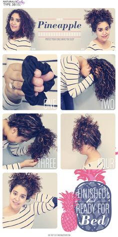 How To Sleep With Type 3 Curly Hair Hairstyles Curly Girl And Hair