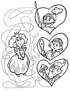 free printable coloring image The Three Little Pigs 11