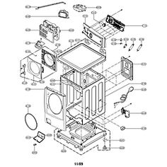 Kenmore 400 Washer Parts Diagram Magic Chef Washer Parts