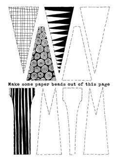 1000+ ideas about Paper Beads Tutorial on Pinterest