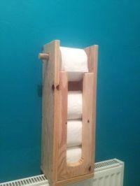 Wooden Toilet Paper Storage Cabinet   Stratmore Toilet ...