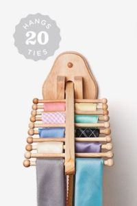 1000+ ideas about Tie Rack on Pinterest | Organize Ties ...