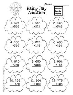 Four triple digit word problems. Addition & Subtraction