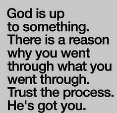 God's plan is always the best. Sometimes the process is