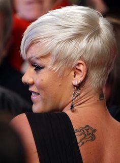 Singer Pink Hairstyles Hairstyles Short Hairstyles