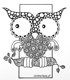 Key drawings, Locks and Owl on Pinterest